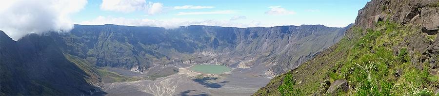 Der Krater des Tambora