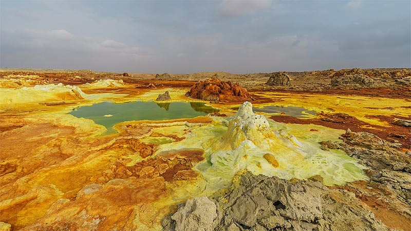 Dallol in Äthiopien