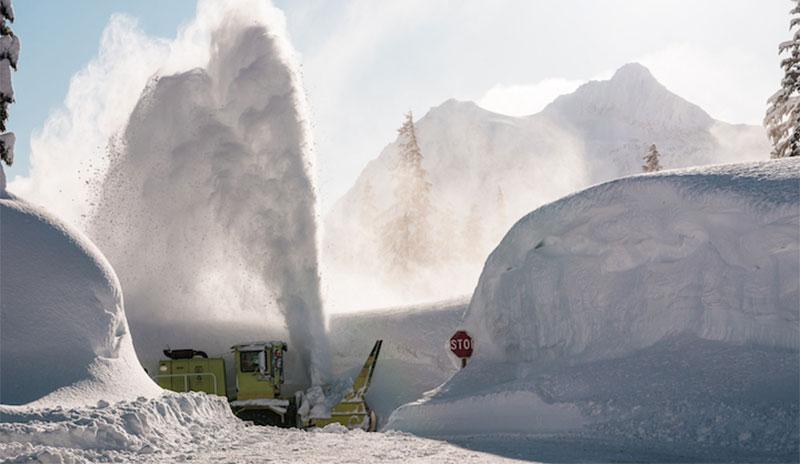 Schneemassen in den USA