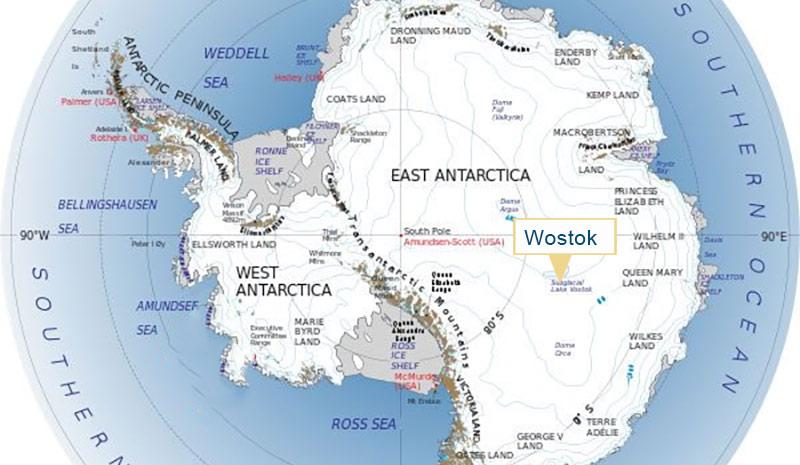 Wostok/Antarktis – Der Kältepol der Erde