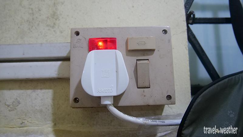 Schalter für den Boiler