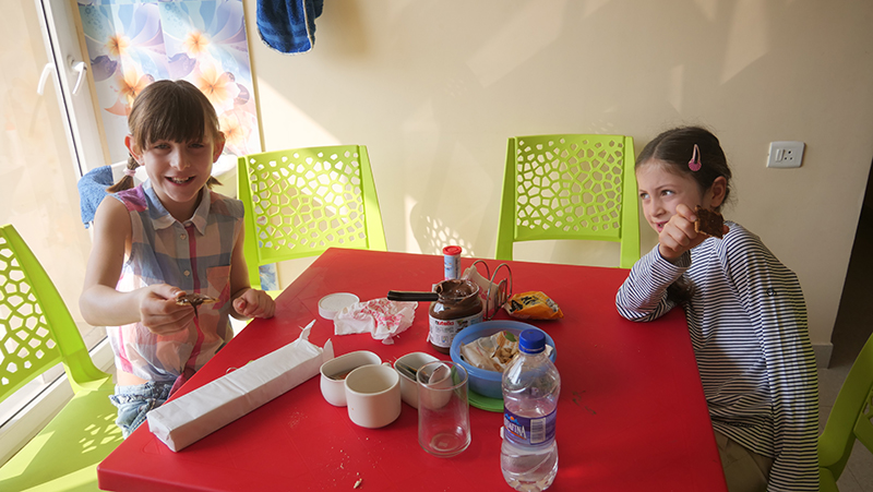 Frühstück in Guwahati