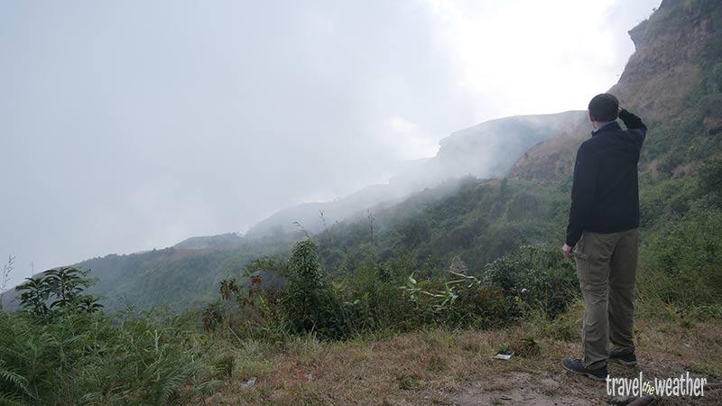 Wolken bei Mawsynram