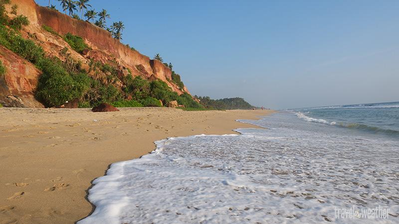 Der Strand am Südkliff