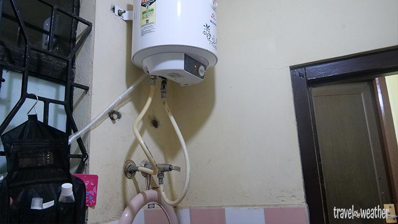 Ein indischer Warmwasserboiler