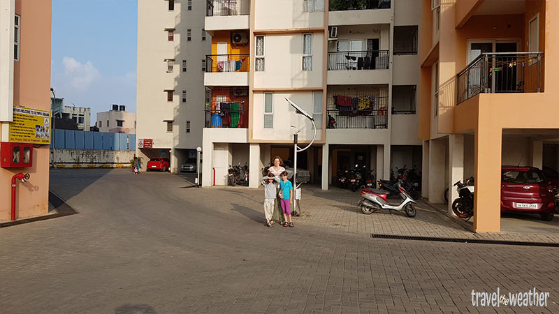 Appartmentkomplex in Chennai
