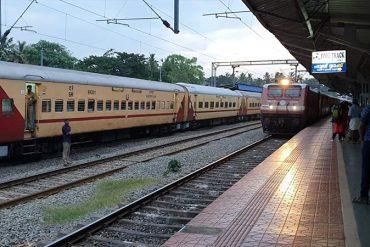Bahn in Indien