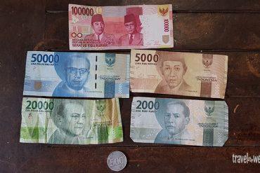 Das indonesische Geld