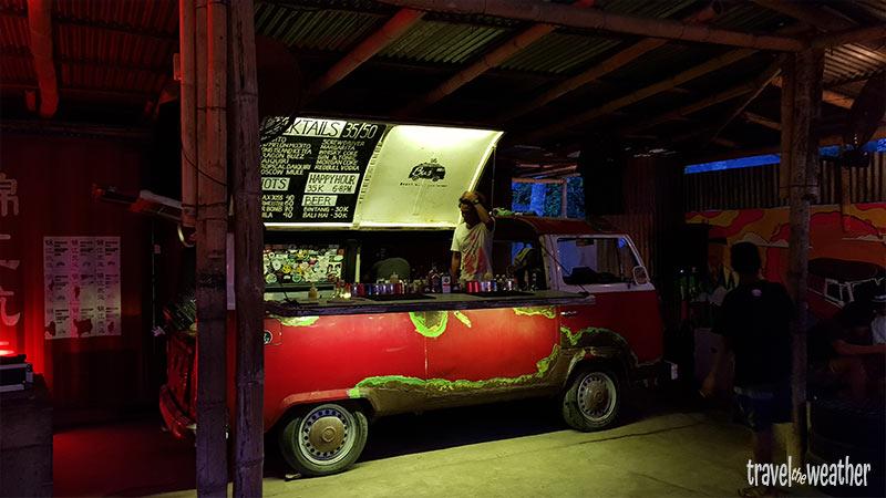 Bus Bar Kuta Lombok