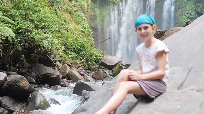 Naira Wasserfall Tiu Kelep