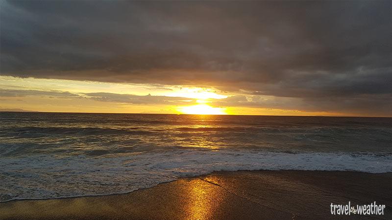 Sonnenuntergang Senggigi