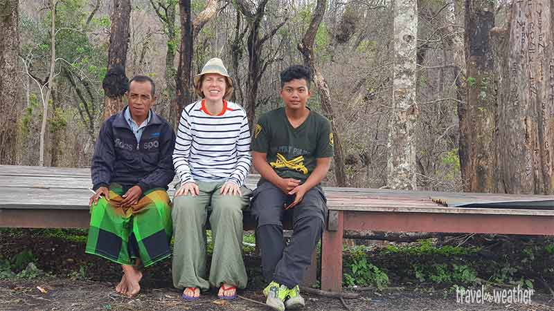 Meine beiden indonesischen Guides.