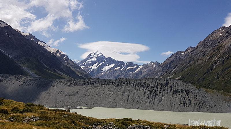 Blick auf den Mount Cook vom Kea Point.