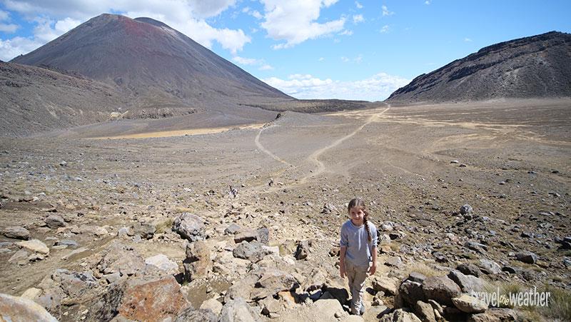 Wanderung zum Mount Ngauruhoe auf der Nordinsel Neuseelands