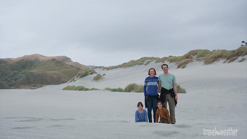 Einer der schönsten Plätze unserer Reise: Der Wharariki Beach.