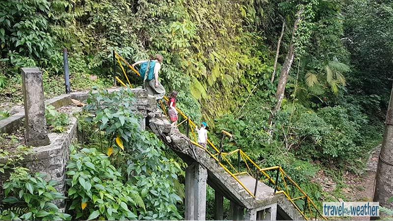 Tiu Kelep Wasserfall Brücke