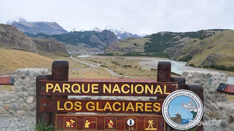 Auf dem Weg nach El Chalten.