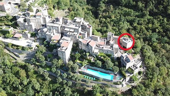 Das Dorf Coletta in Italien.